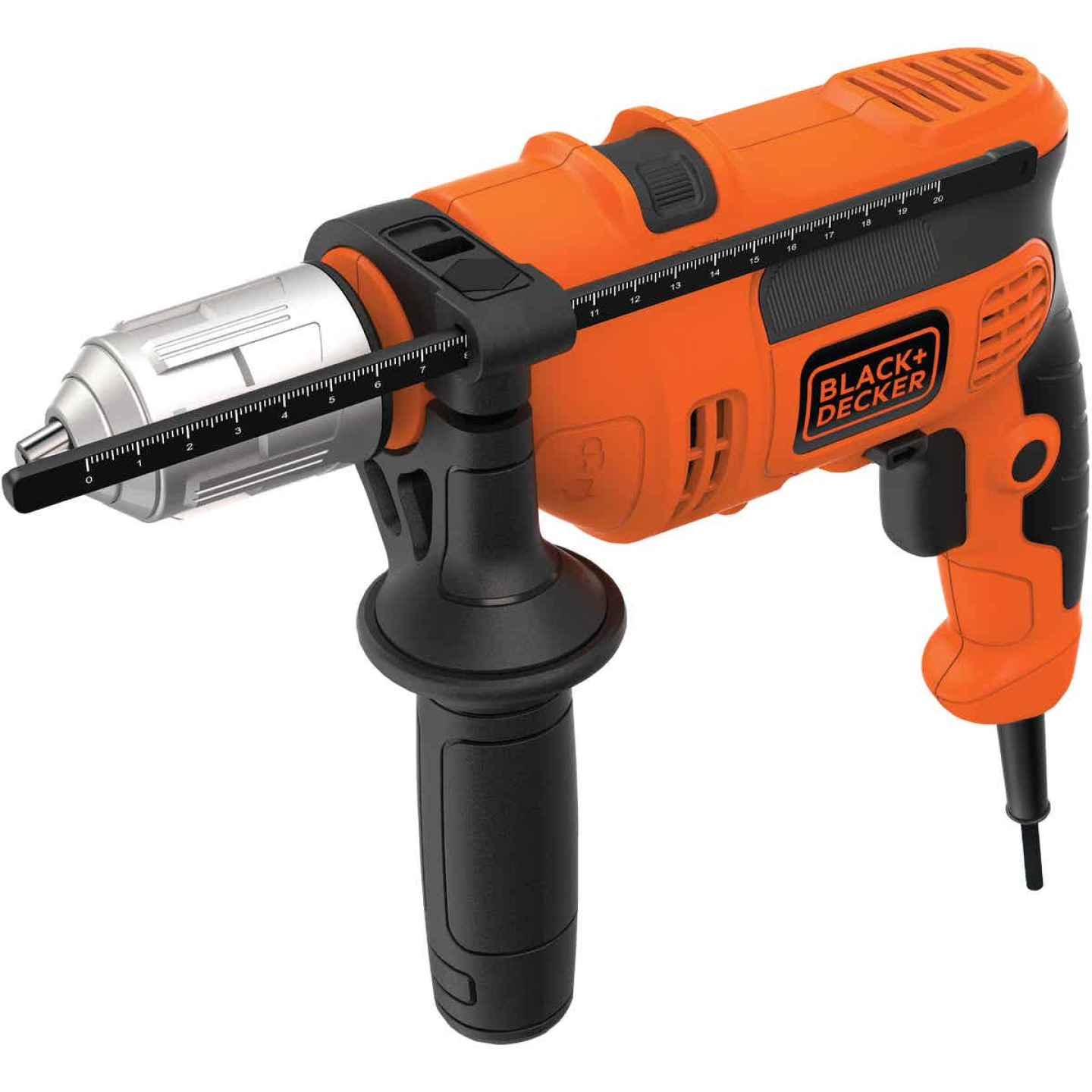 Black and Decker 1/2 In. 6.5-Amp Keyless Electric Hammer Drill Image 5