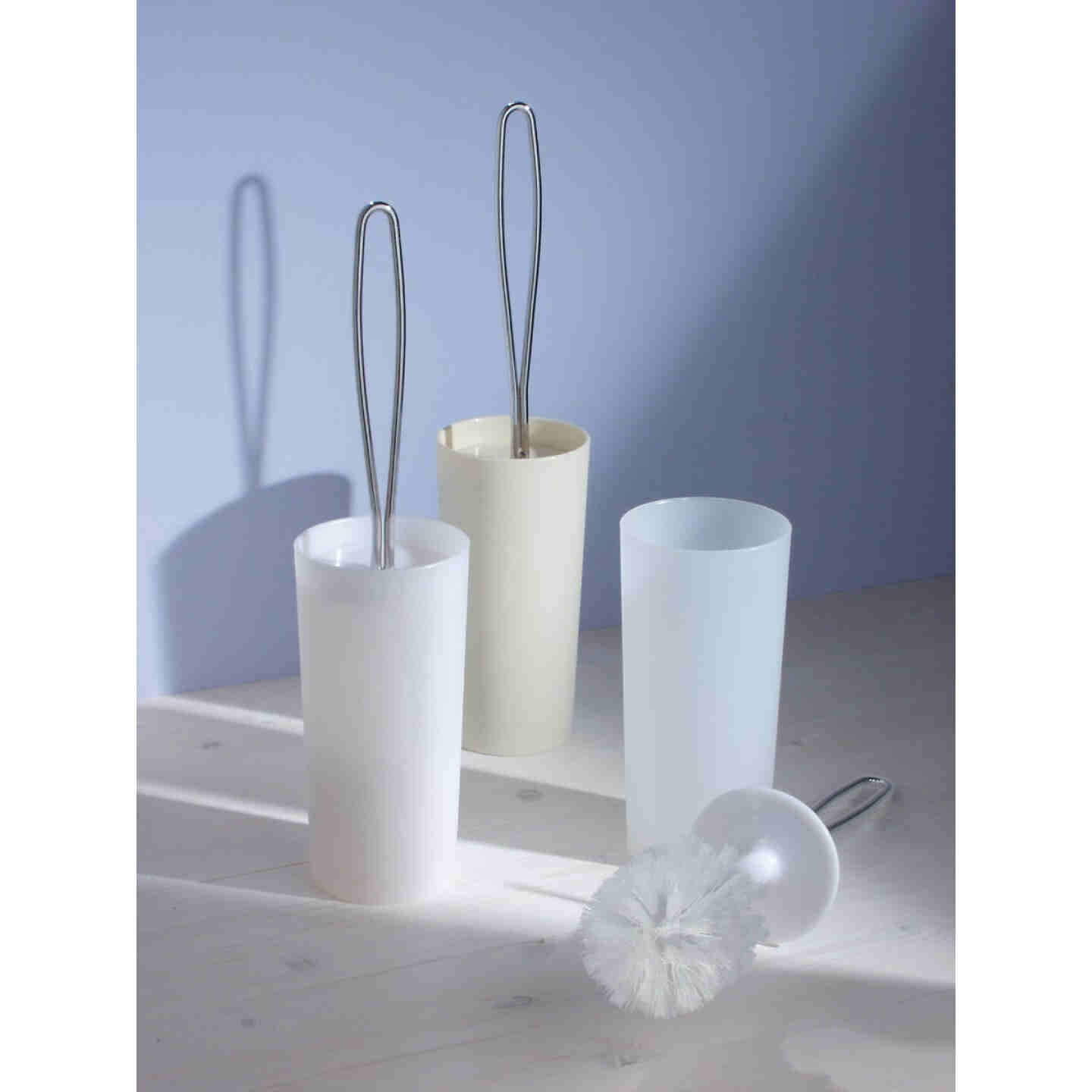 InterDesign 16.5 In. Loop Toilet Bowl Brush With Caddy Image 2