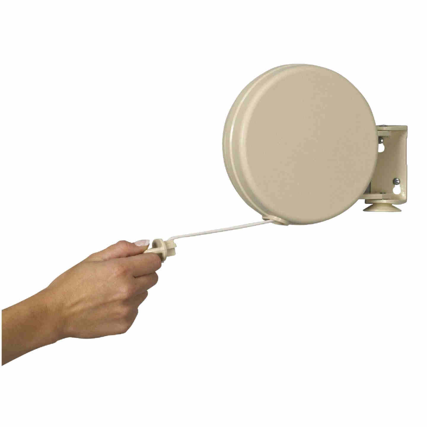 Household Essentials Sunline 40 Ft. 75 to 100 Lb. Capacity Plastic Retractable Clothesline Image 1