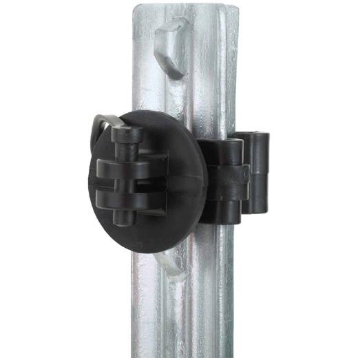 Dare Snap-On Black Polyethylene Electric Fence Insulator (25-Pack)