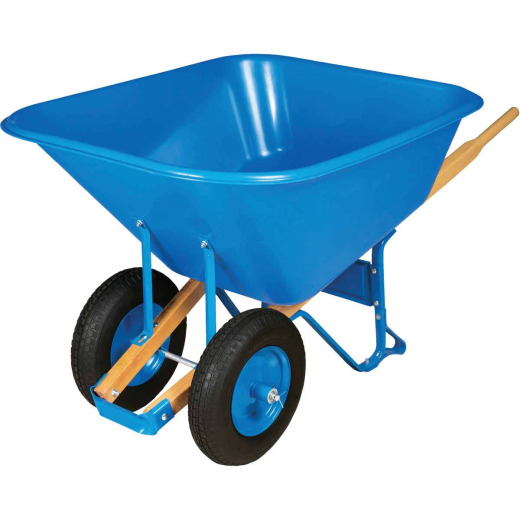 Truper Tru Pro 10 Cu. Ft. Poly Wheelbarrow