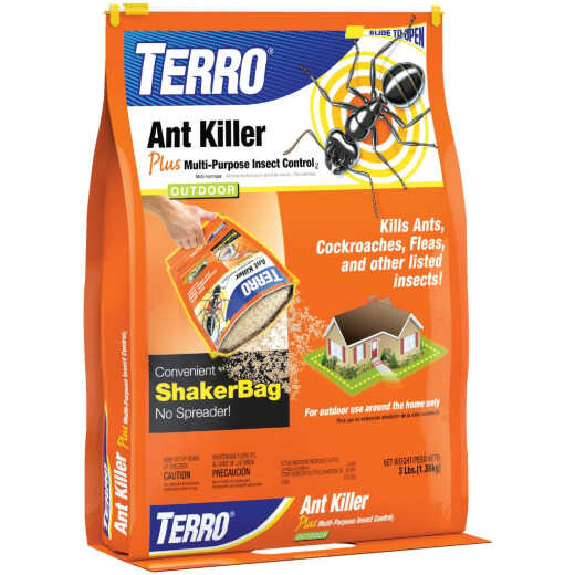 Terro Ant Killer Plus 3 Lb. Ready To Use Granules Ant & Roach Killer